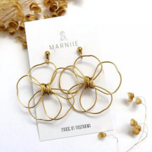 Marniie Brass Daisies