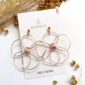 Marniie Rose Gold Daisies